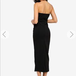 Missguided Bandeau Midi-Maxi Dress, US6